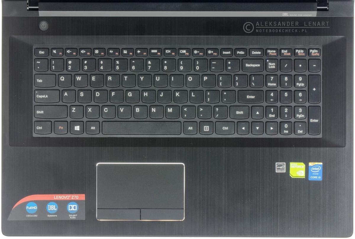 Recenzja Lenovo Z70-80