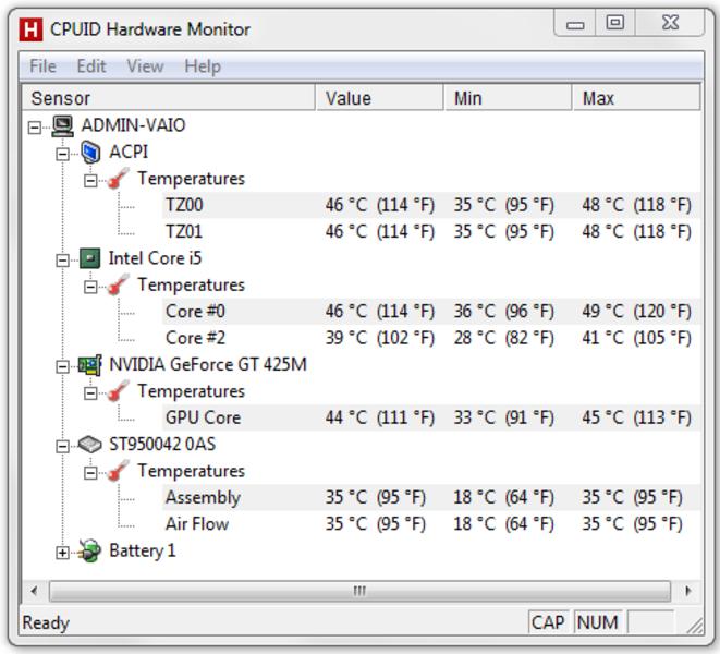 Температура процессора программа скачать 5