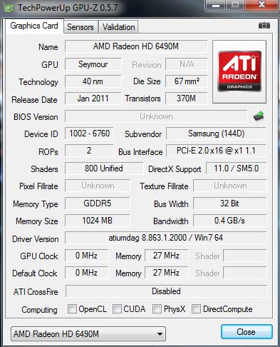 Amd Radeon Hd 6490m Driver Download