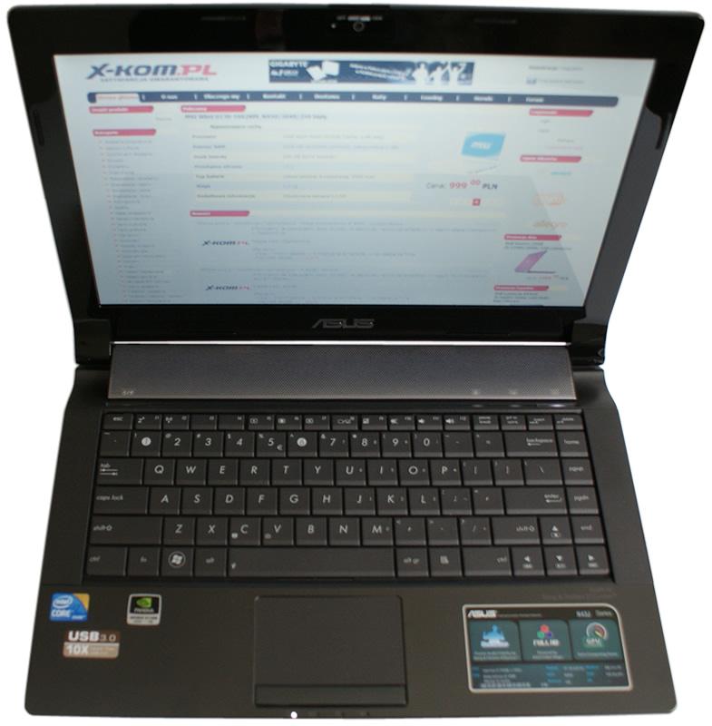 Asus N43JQ Notebook Intel WiFi Vista