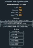 Heaven Benchmark v2.5 (1280x720)