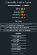 Heaven Benchmark v2.5 (1366x768)