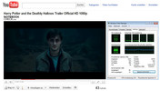 "480p, z YouTube: ""Harry Potter and the Deathly Hollows"" (Flash) - płynnie"
