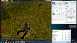 test gry World of Warcraft - jest throttling (taktowanie CPU: 1,2 GHz)