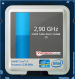 Intel Core i5-2410M Turbo Boost: 2.9 GHz