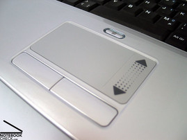 touchpad w Alienware S-4 m5550