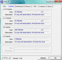 CPU-Z Caches