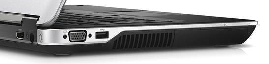 lewa strona: HDMI, gniazdo zasilania (z tyłu) / VGA, USB 3.0, wylot powietrza z układu chłodzenia, czytnik Smart Card (na ściance bocznej) - fot. Dell