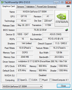 GPU-Z Graphics Card (NVIDIA GeForce GT 555M)