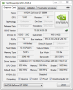 GPU-Z (NVIDIA GeForce GT 555M)